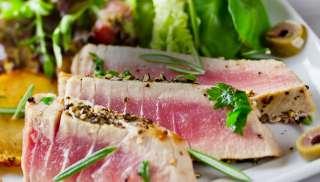 Prachtig bij een salade Niçoise