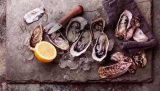Prachtig bij oesters